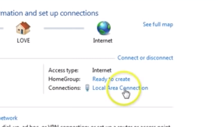 Local Area Connection