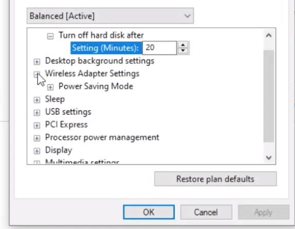Wireless Adapter Setting TDR video failure