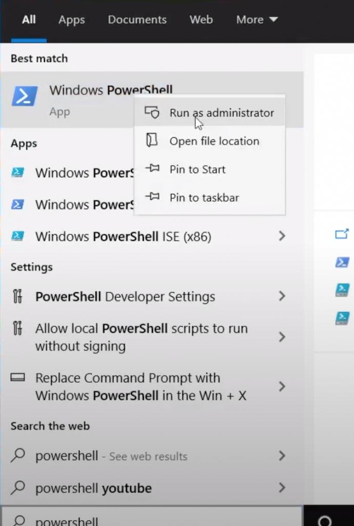 Open PowerShell