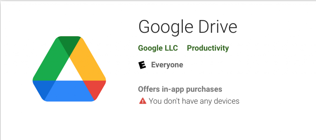 Use Google drive to transfer file from android to mac