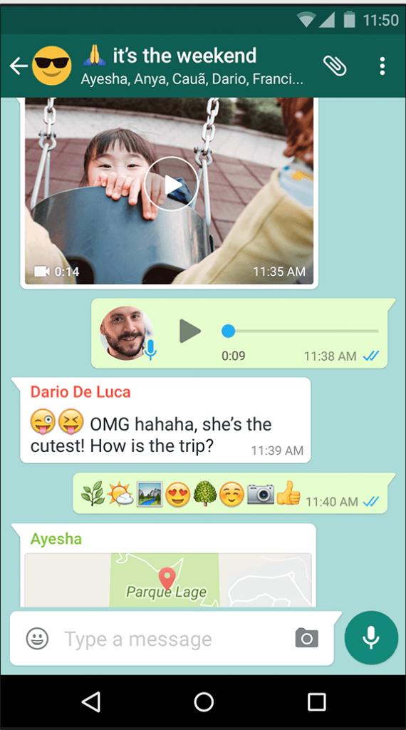 Whatsapp - Android File Transfer alternative