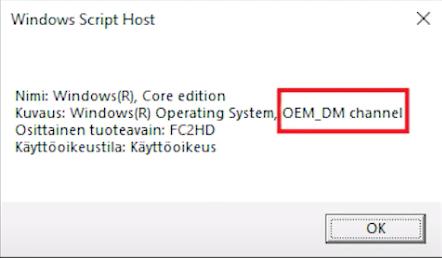 OEM Licence Windows