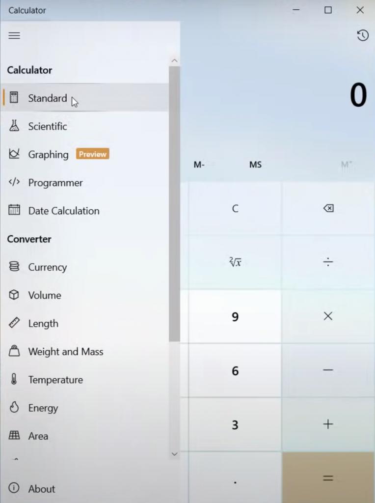 Windows 10 calculator tips